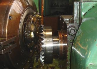 Bevel gear cutting