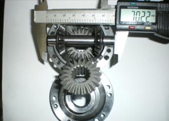 Изработване на малогабаритни конусни зъбни колела