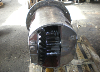 Repair of bevel-cylindrical gearboxes