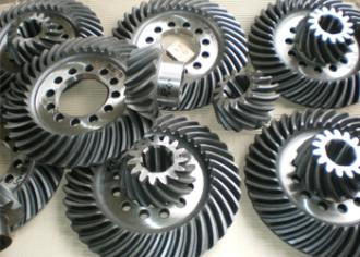 Design of spiral bevel gears