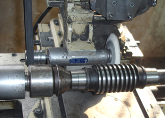 Grinding of worm gears