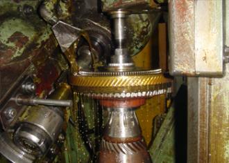 Teeth cutting of helical gears