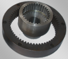 Manufacture of cylindrical gears with internal teeth