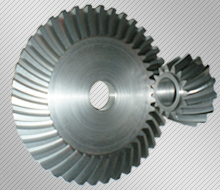 Manufacture of spiral bevel gears