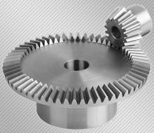 Производство на конусни зъбни колела с прави зъби