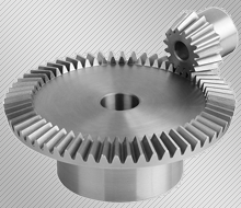 Manufacture of bevel gears with straight teeth