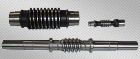 Manufacture of single-threaded, multi-threaded and compensating worm screws