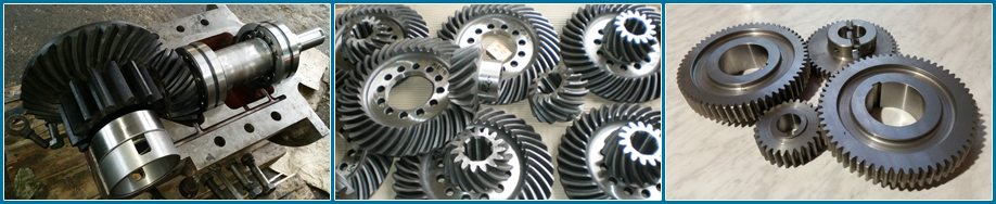 Production of gears